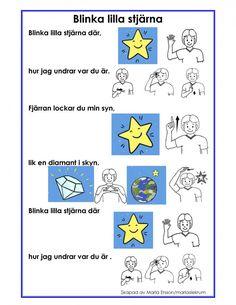 Swedish Quotes, Learn Swedish, Swedish Language, Sign Language, Special Needs, Pre School, Montessori, Crafts For Kids, Singing