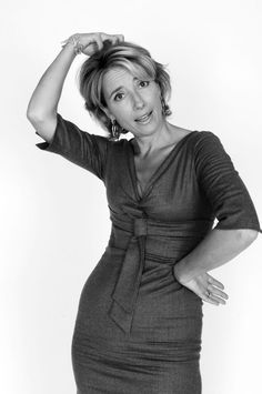 Emma Thompson (1959) - British actress, comedienne, screenwriter and author. Photo © Xavier Martin, Paris, 2006