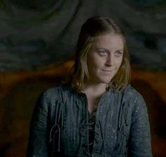 Asha (Yara) Greyjoy she has the best smirk in the business