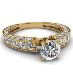 yellow-gold-round-white-diamond-engagement-wedding-ring-in-pave-set-FDENS1255ROR-NL-YG