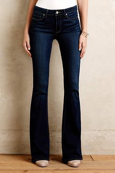 Paige High-Rise Bell Canyon Flare Jeans - anthropologie.com