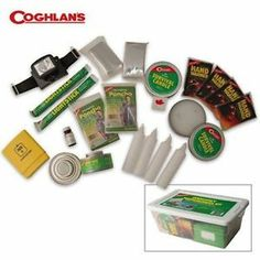 Coghlans Emergency Preparedness Kit #0010 for hurricanes, ice storms, tornadoes