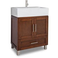 The Awesome Web This Jeffrey Alexander Philadelphia Classic Bathroom Vanity with Granite Top u Sink has a rich chocolate brown finish to give an updated feel Thi u