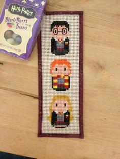 Harry potter bookmark cross stitch