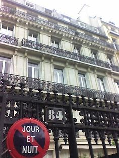 84 Avenue Foch, Gestapo HQ, Paris-where Michael was questioned