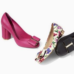 Whether in a pump or a ballerina flat, the Flower heel adds a pop of  elegance. 43f25824f5