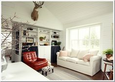 A Home Full Of Color: Small Home Big Style: Cabin Fever