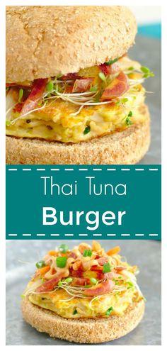 Thai Tuna Burgers –