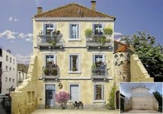 Cheerful Facades – Fun Murals by Patrick Commecy.