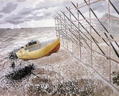 """""""Drift Boat"""" by Sussex Downs, East Sussex, London Transport, East London, British Isles, World War Two, Art Photography, Fine Art, Illustration"""
