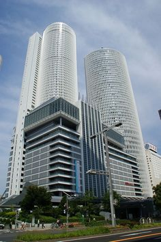 JR Central Towers and Station, Nagoya, Japan #KPF