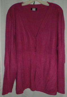 Cardigan Knit Sweater Button Fly Away Studio 1940 3x 4x #PlusSize  #ThePlusSide #Studio1940