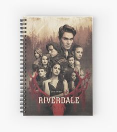 Riverdale Book, Riverdale Shirts, Riverdale Poster, Riverdale Archie, Betty And Veronica Costumes, Cool Notebooks, Spiral Notebooks, Riverdale Fashion, Notebook Cover Design