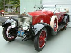 1926 Rolls-Royce Dual Cowl Phaeton