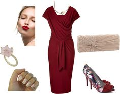 """""""Red Romance"""" by irenabarat on Polyvore"""