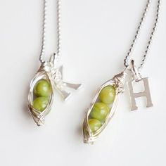 Sweet Peas in a Pod Necklace - up to 6 Peas - $19.99. https://www.bellechic.com/deals/b7787a9e8d50/sweet-peas-in-a-pod-necklace-up-to-6-peas