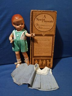 Original Effanbee Patsyette Doll in Original Box with extra outfit