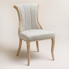 One of my favorite discoveries at WorldMarket.com: Dove Channel Back Dining Chairs Set of 2