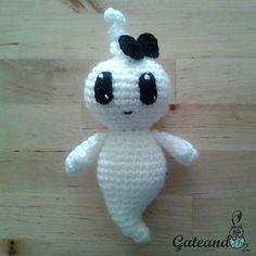 Ravelry, #crochet, free pattern, amigurumi, ghost, Halloween, #haken, gratis patroon (Engels), spook, #haakpatroon, sleutelhanger