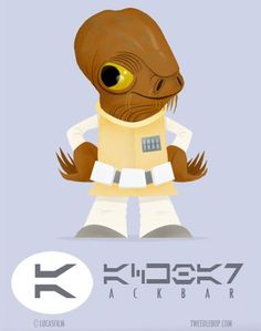 Super Punch: Admiral Ackbar t-shirt and roundup Star Wars Rebels, Star Wars Characters, Disney Characters, Fictional Characters, Bodhi Rook, Castle Illustration, Admiral Ackbar, My Own Private Idaho, Star Wars Personajes