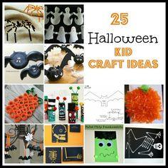 Halloween Kid Craft Ideas #halloween
