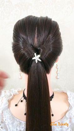 Step By Step Hairstyles, Diy Hairstyles, Wedding Hairstyles, Hairstyle Ideas, Short Curly Hairstyles For Women, Curly Hair Styles, Messy Wedding Hair, Hair Videos, New Hair