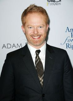 "Out and Proud Celebrities - Jesse Tyler Ferguson  Ferguson's father had a hard time accepting when the Modern Family star came out in his early 20s. ""At one point, he asked me if I had a girlfriend after I'd already come out to him, and I had to reiterate, 'No, Dad, I'm gay.'"" Ferguson told Out magazine. - See more: http://www.tvguide.com/PhotoGallery/Gay-Celebrities-Coming-Out-1048116/1051247"