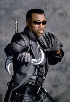 Eric Brooks was the vampire hunter known as Blade. Marvel Characters, Marvel Heroes, Marvel Dc, Marvel Wolverine, Fictional Characters, Dc Movies, Marvel Movies, Marvel Universe, Eric Brooks