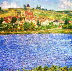 Claude Monet. Vetheuil, Afternoon (1901).