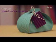 Cómo hacer cajas de cartón corrugado | Cajas de cartón | @iMujerHogar - YouTube