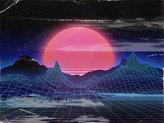 How to Easily Create Retro Landscapes with an 80s Aesthetic