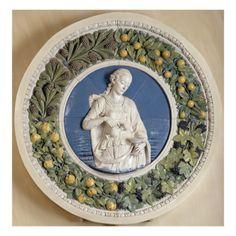 LA TEMPERANCE par ANDREA DELLA ROBBIA -Art.fr - Musée national de la Renaissance (Ecouen) (RMN) - toiles et affiches pour amoureux d'art