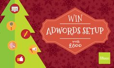 Fifteen are offering the chance for your business to win a free AdWords setup worth up to £800!   Click on the link below to enter  http://www.fifteendesign.co.uk/adwords-competition/