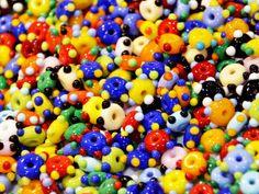 Handmade glass beads Sharon Peters