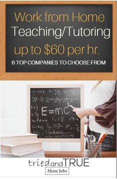 6 Top Companies to Make Money Online Teaching and Tutoring