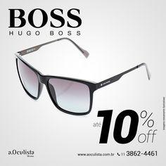 Óculos de Sol Hugo Boss com até 10% de desconto. Acesse: https://aoculista.com.br/hugo-boss Compre pelo site em até 10x sem juros e frete grátis #aoculista #hugoboss #glasses #sunglasses #eyeglasses #oculos #boss