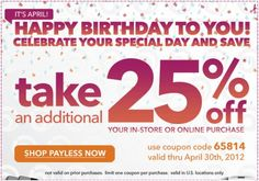 Save 25% on Payless shoes! #coupon