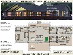 34 best 2018 - 5 Bedroom House Plans images | 5 bedroom house plans ...