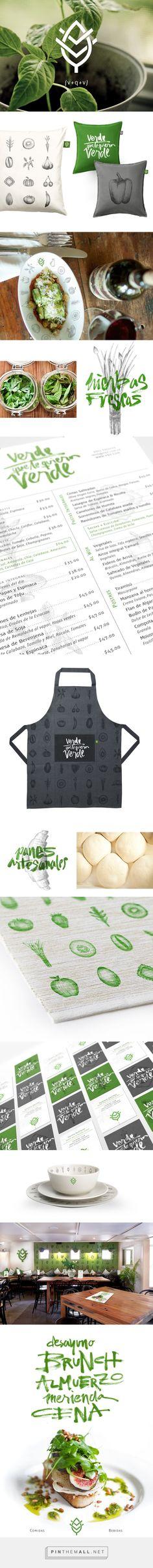 Verde que te Quiero Verde Branding, Illustration, Typography By: Lisa Nemetz