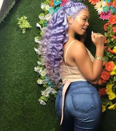 Lace frontal Wigs For Women Hair Ugeat Hair Extensions Curly Wigs 8 Inch Brazilian Bob Wig Straight Wigs Hair Food Light Pink Hair Afro Hair Style, Curly Hair Styles, Natural Hair Styles, Light Pink Hair, Purple Hair, Love Hair, Gorgeous Hair, Hair Colorful, Lavender Hair