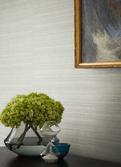 What a lovely neutral paper with just enough pattern! | Town and Country Wallpapers | Zoffany