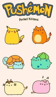Cute Kitty Pokemon > ' . '