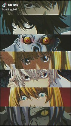 Evil Anime, Otaku Anime, Anime Guys, Death Note Light, L Death Note, Death Note Near, Anime Films, Anime Characters, Death Note Funny