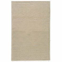 """Simply Home Solids Cuban Sand Rug Rug Size: Square 9' by Colonial Mills. $600.00. H330R108X108S Rug Size: Square 9' Features: -Technique: Braided.-Material: 100pct Polypropylene.-Origin: USA.-Reversible.-Stain resistant.-Fade resistant. Construction: -Construction: Hand guided. Dimensions: -Pile height: 0.5"""".-Overall Dimensions: 34-168'' Height x 22-132'' Width x 0.5'' Depth. Collection: -Collection: Simply Home Solid."""