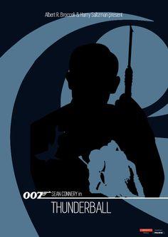 James Bond 007 - Poster Special Edition - Thunderball 2b