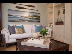 Beach House Design Ideas   Nautical Themed Interior Decorating Ideas - YouTube