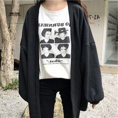 🌺 UNISEX CLOTHING (@_dino.store_) • Ảnh và video trên Instagram Grunge Style, Soft Grunge, Cute Asian Fashion, Korean Fashion, Ulzzang, Baggy Clothes, Ootd, Korean Outfits, Aesthetic Fashion