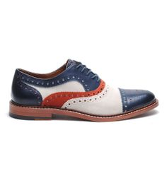 McGavock Cap Toe - Red/White/Blue - New Arrivals - Featured - Men's