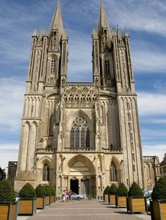 Notre Dame Cathedral Dating from the 14th Century, Coutances, Cotentin, Normandy, France, Europe-Guy Thouvenin-Photographic Print Cathedral Architecture, Gothic Architecture, Monuments, Normandy France, Provence France, Frame My Photo, France Europe, Beach Landscape, 14th Century