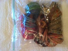 The bangles in their protective Ziploc. Woman Bedroom, Bedroom Storage, Storage Solutions, Bangles, Ideas, Home Decor, Bracelets, Decoration Home, Shed Storage Solutions